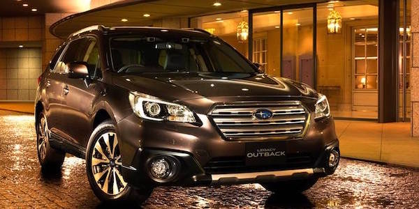 Subaru Outback X-Advance 2017 для Японии