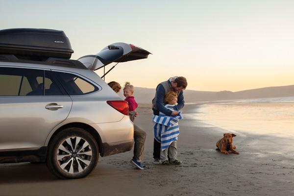 Subaru Outback 2015 лучший семейный автомобиль
