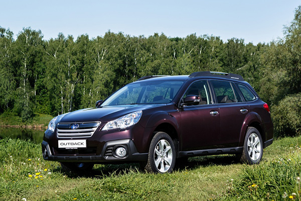 Subaru Outback Deep Cherry Edition