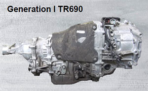 Вариатор Субару первое поколение TR690
